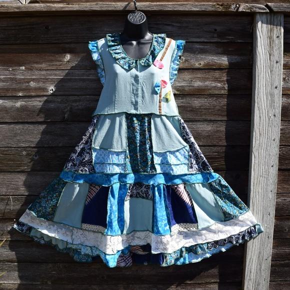 Gypsy Peasant Dress